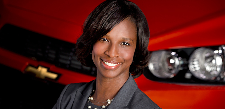 McCormick alumni join a global network of whole-brain engineers. Pictured, Alicia Boler-Davis ('91), senior vice president at General Motors.